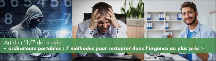 Utilisateurs confrontés à la perte de données ou à des crypto-virus sur leur poste de travail