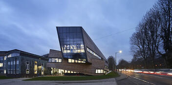 Libeskind The Ogden Centre DiRAC building in Durham