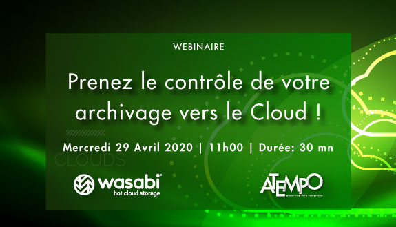Atempo Wasabi Archivage Cloud