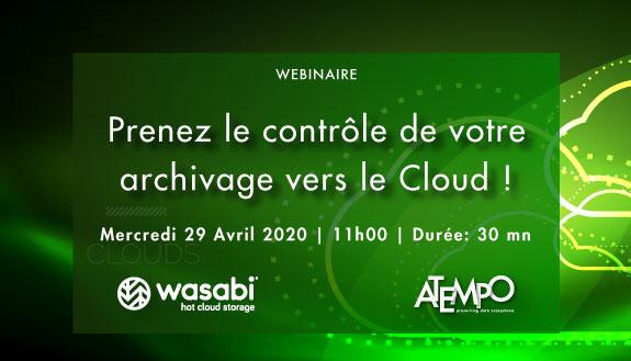Atempo Wasabi Archivage Cloud