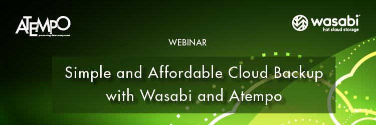 Wasabi cloud