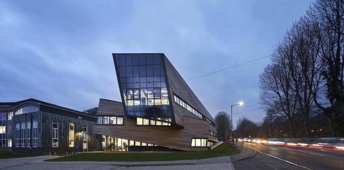 Libeskind The Ogden Centre DiRAC building in Durham